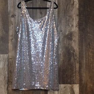 Sequin Party Dress 3X